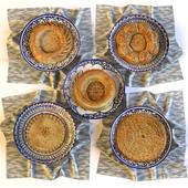 Eastern Bread (Uzbek Flat Cakes)