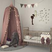 Set in the nursery