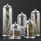Bathroom decoration jars set 2