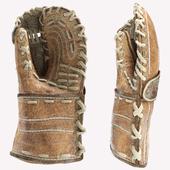 Old hockey glove