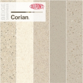 Dupont Corian Kitchen Countertops Beige 1