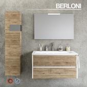 Комплект для ванной комнаты Berloni Form 08