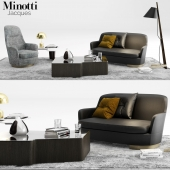 Minotti Jacques Sofa set_01