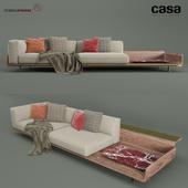 Casa Intl Positano Sofa
