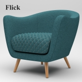 Flick Accent Chair
