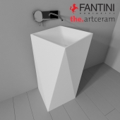 Sink Artceram Sharp and Fantini Rubinetti Colibri