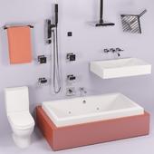 Набор для ванной комнаты от  Danze