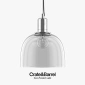 Crate & Barrel - Dunn Pendant Light