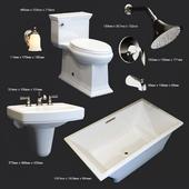 Набор сантехники для ванной комнаты Kohler