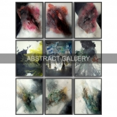 Paintings abstract | set 14