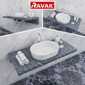 Washbasin RAVAK | Moon 2