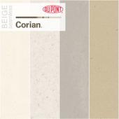 Dupont Corian Kitchen Countertops Beige 2