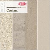 Dupont Corian Kitchen Countertops Beige 3