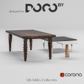 Collection of tables Qb-collection designed by DOCOby