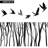 Mirror for wall 45