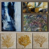 Collection of 13 paintings John - Richard