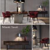 Minotti Tavoli Dining Furniture