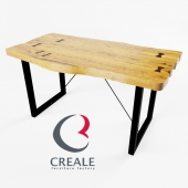 Table and chair Chicago (Creale, Stalliere)