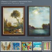 Сборник современных картин (set-8)