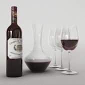 Графин с вином