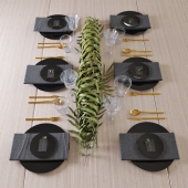Свадебная сервировка стола