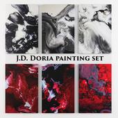 J.D. Doria painting set