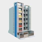 Tanishq_Multi_Story_Building_india