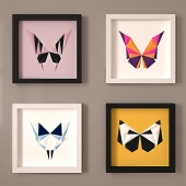 Paperpan  » Butterfly Mask Artwork