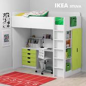 Children's bed Ikea STUVA / STUVA Ikea