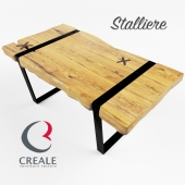 A set of coffee tables Chicago(Сreale, Stalliere)