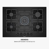 Siemens EP7A6QB90 5 Burner Gas Hob