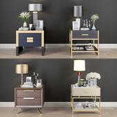 Nightstand Decorative Set01