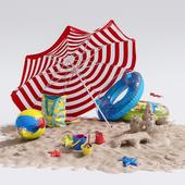 Декор для пляжа