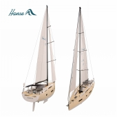 Hanse 675 yacht