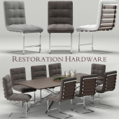 Spyder-Rossi desk-chair, RH Modern