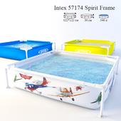 Каркасный детский бассейн Intex 57174 Planes