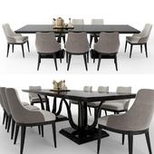 GALIMBERTI NINO Corallo table + Adele chair