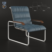 THONET S 35 N  Upholstered easy chair