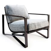 HOLLY HUNT - Omura Lounge Chair (перезаливка)