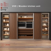 VVD | Wooden Kitchen unit