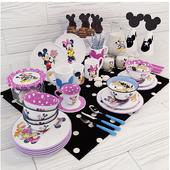 Набор посуды для детей Mickey Mouse