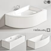 Radaway baths + Steinberg bath/shower mixer