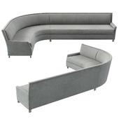 Perry Street Boomerang Sofa