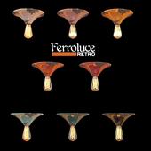 Потолочный светильник D 250 Ferroluce RETRO коллекция VINTAGE