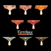 Потолочный светильник 310х310 Ferroluce RETRO коллекция VINTAGE