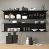 Decorative set for kitchen
