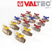 Ball valve-Ball valve, for water and gas, Valtec.
