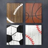 Wood decor planks