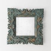 Square Baroque Mirror Design by Burke Decor Home