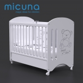 Bed 120x60 Micuna Sweet Bear Basic